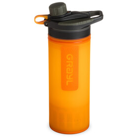Grayl Geopress Water Purifier, visibility orange